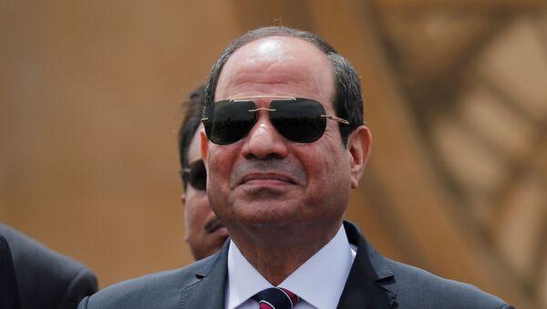 Mısır Cumhurbaşkanı Abdulfettah el Sisi - Sputnik Türkiye