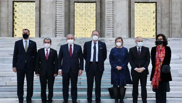 AKPM Başkanı Daems - Türkiye ziyareti - Sputnik Türkiye