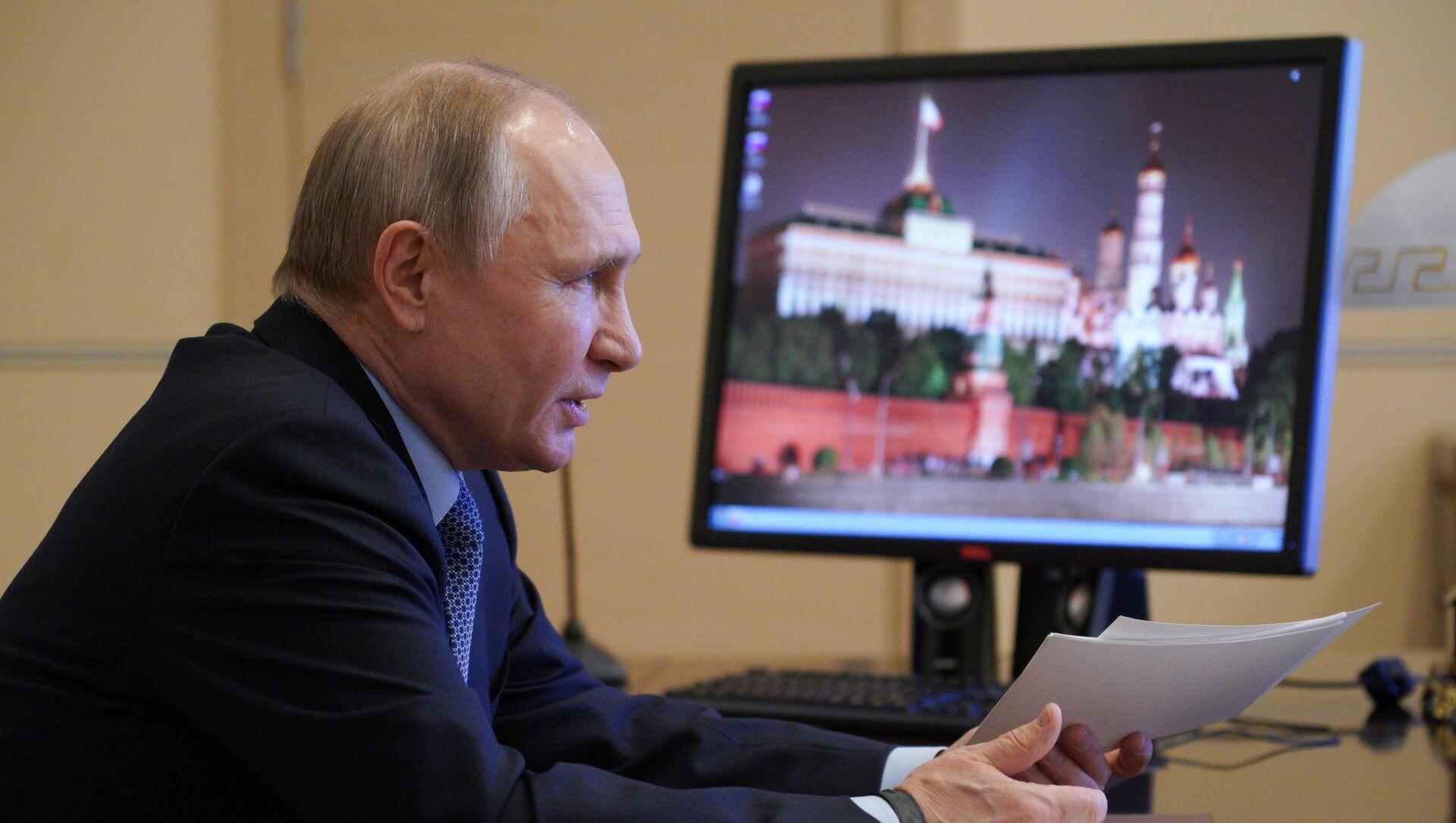Vladimir Putin - Sputnik Türkiye, 1920, 31.03.2021