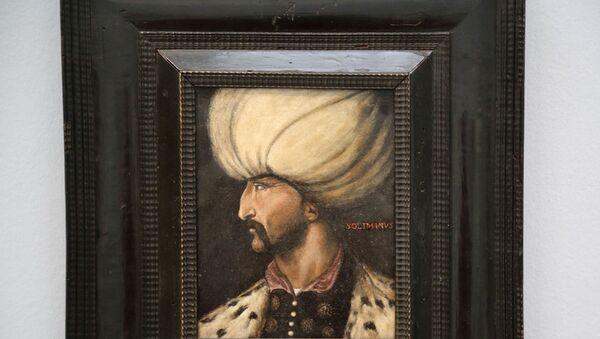 Kanuni Sultan Süleyman portresi - Sputnik Türkiye