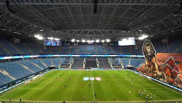 St.Petersburg'da oynanacak EURO 2020 maçlarında tribünlerin yarısının dolmasına izin verilecek - Sputnik Türkiye