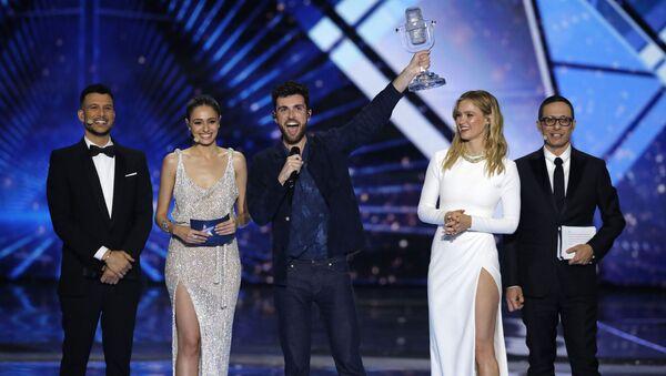 Duncan Laurence- Hollanda- Eurovision - Sputnik Türkiye