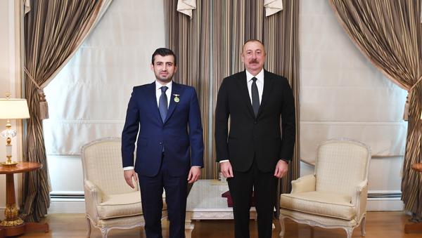 Selçuk Bayraktar - İlham aliyev - Sputnik Türkiye