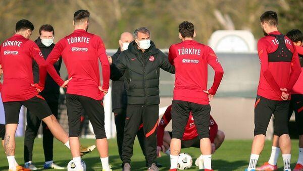 Milli Takım antrenman - Sputnik Türkiye