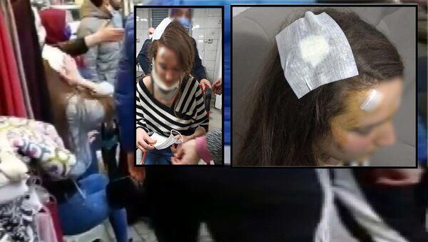 Yolda yürürken muştalı saldırıya uğrayan kadın - Sputnik Türkiye