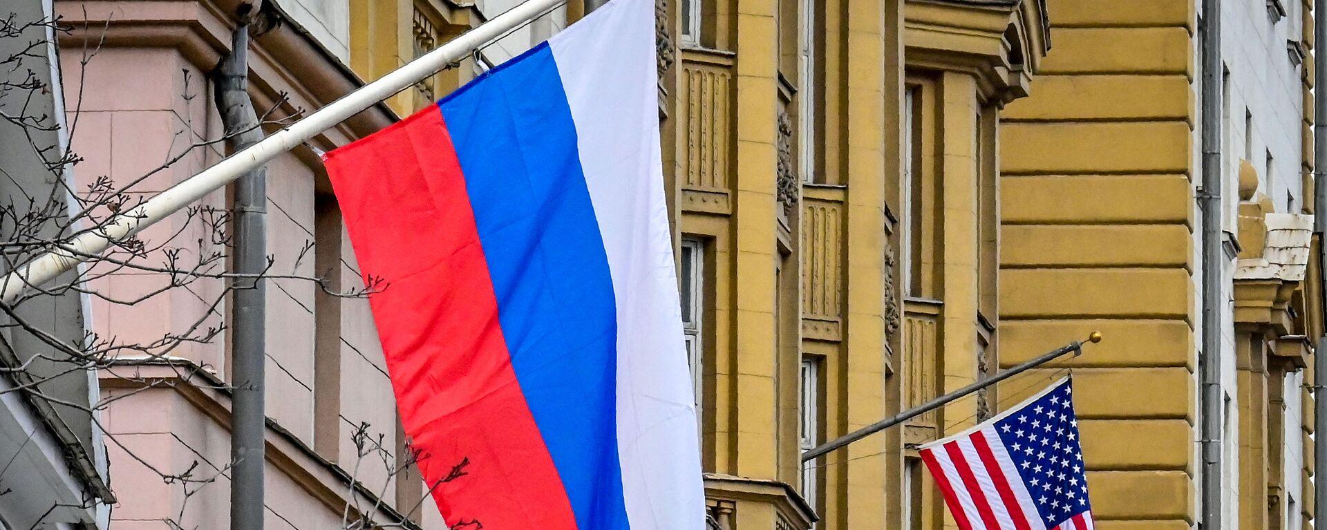 Rusya- ABD bayrağı - Sputnik Türkiye, 1920, 23.09.2021