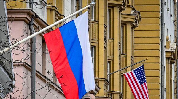 Rusya- ABD bayrağı - Sputnik Türkiye