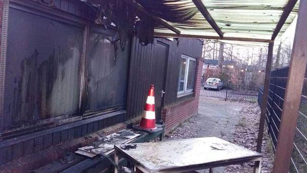Hollanda'da inşası devam eden cami kundaklandı - Sputnik Türkiye