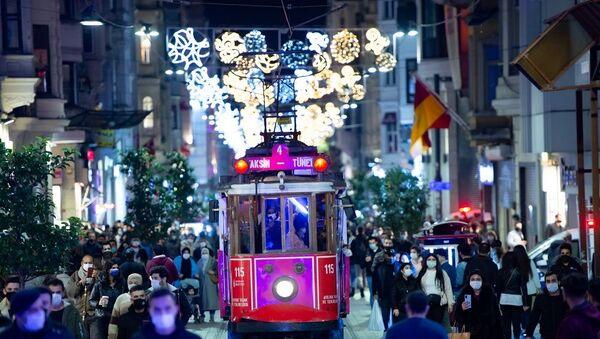 İstanbul-İstiklal Caddesi - Sputnik Türkiye