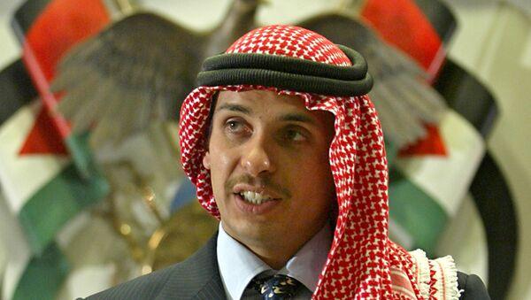 Ürdün Kralı 2. Abdullah'ın kardeşi Prens Hamza bin Hüseyin - Sputnik Türkiye