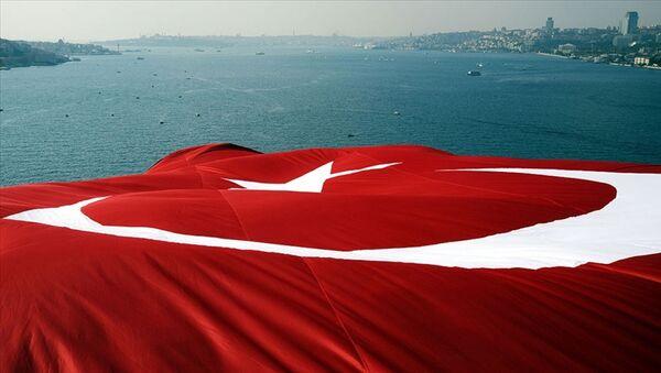 Boğazlar- Montrö- Türk bayrağı - Sputnik Türkiye