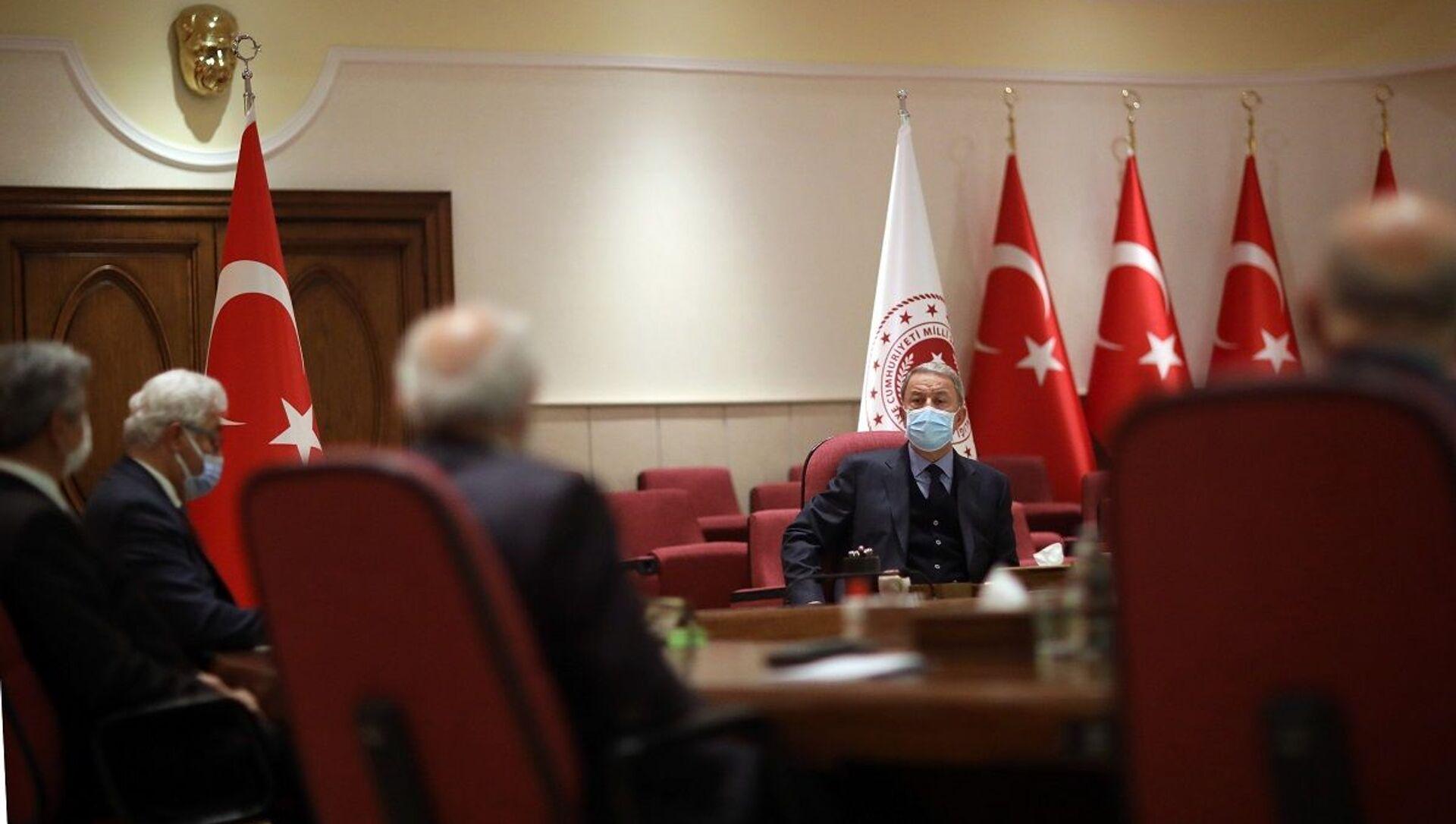 TESUD - Emekli Subaylar Derneği - Milli Savunma Bakanlığı - davet - ziyaret - Sputnik Türkiye, 1920, 05.04.2021