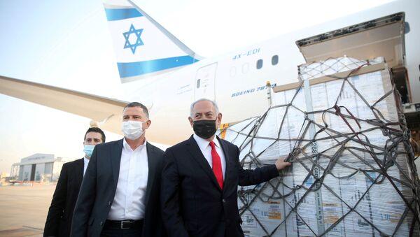 İsrail- Benyamin Netanyahu- Pfizer aşısı - Sputnik Türkiye