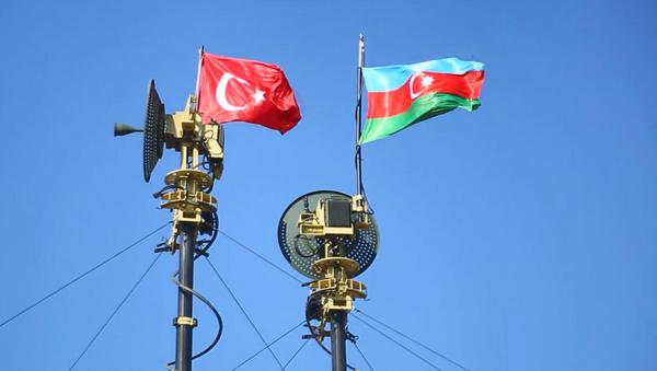 Türkiye ve Azerbaycan muhabere birliklerinin ortak tatbikatı başladı - Sputnik Türkiye