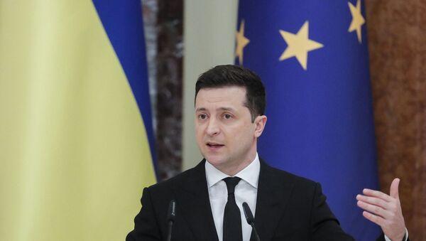 Ukrayna Devlet Başkanı Vladimir Zelenskiy - Sputnik Türkiye