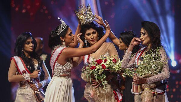 Sri Lanka'da düzenlenen bir güzellik yarışması - Sputnik Türkiye