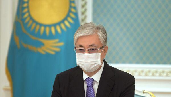 Kazakistan Devlet Başkanı'na Sputnik V aşısı vuruldu - Sputnik Türkiye