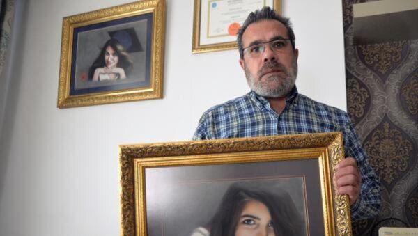 Özgecan Aslan'ın babası - Sputnik Türkiye