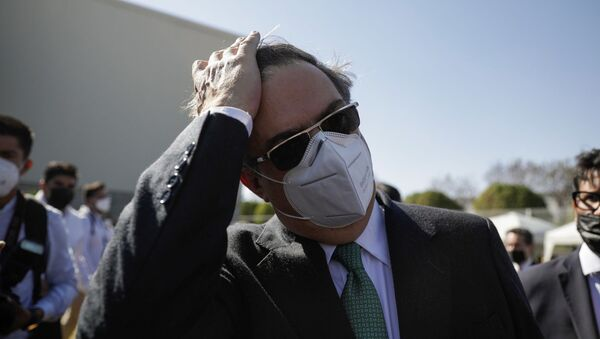 Meksika Dışişleri Bakanı Marcelo Ebrard - Sputnik Türkiye