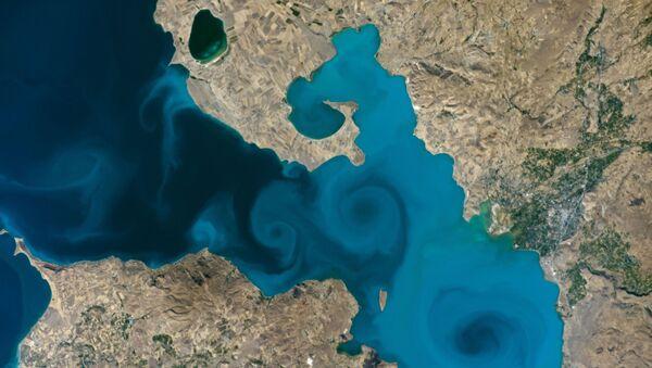 Van gölü uzay - Sputnik Türkiye