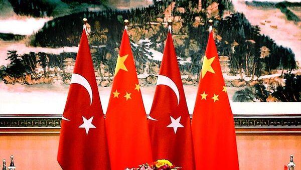 Çin- Türkiye- Bayrak  - Sputnik Türkiye