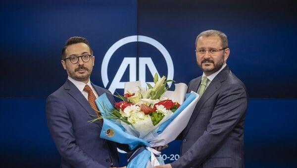 AA Genel Müdürlüğü'nde devir teslim - Sputnik Türkiye