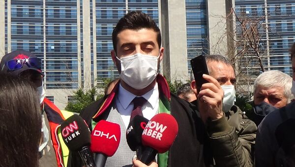 Ailenin avukatı Iyaz Çimen - Sputnik Türkiye