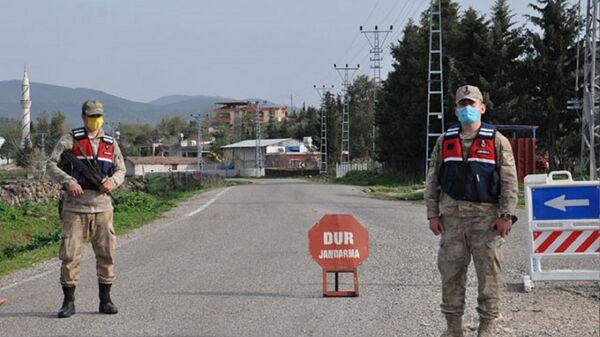 Karantina - Jandarma  - Sputnik Türkiye