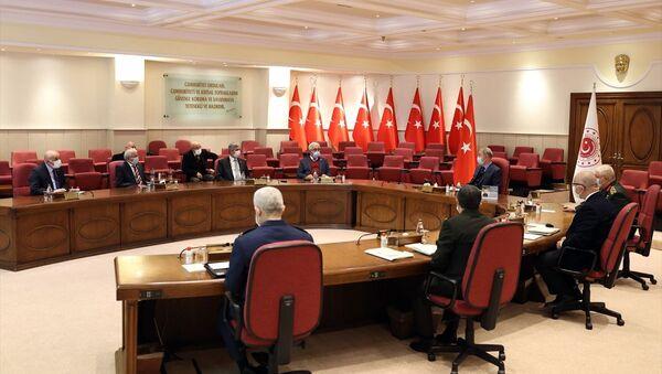 TESUD ve TEMAD'ın Milli Savunma Bakanlığı'na ziyareti - Sputnik Türkiye