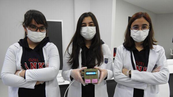 Gaziantepli öğrencilerden düşük maliyetli korona testi - Sputnik Türkiye