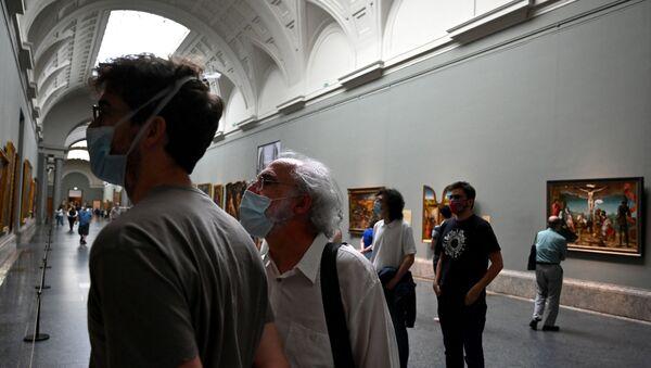 Dünyaca ünlü İtalyan ressam Michelangelo Caravaggio'ya ait olabileceği düşünülen tablo - Sputnik Türkiye