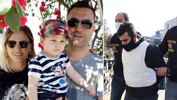 Tokkal çifti ve 4 yaşındaki oğullarının katil zanlısı - Sputnik Türkiye