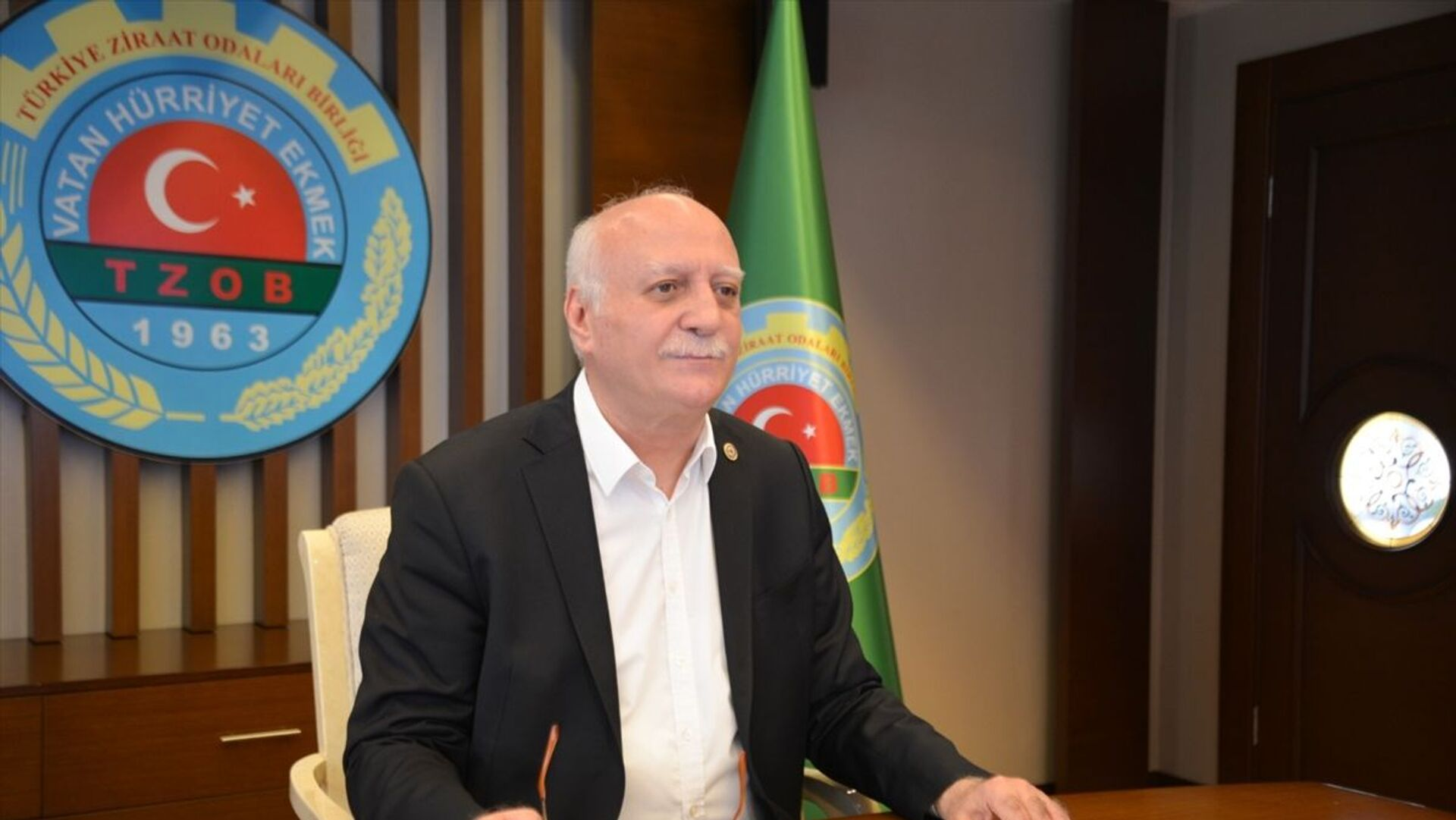 Türkiye Ziraat Odaları Birliği Genel Başkanı Şemsi Bayraktar - Sputnik Türkiye, 1920, 09.04.2021