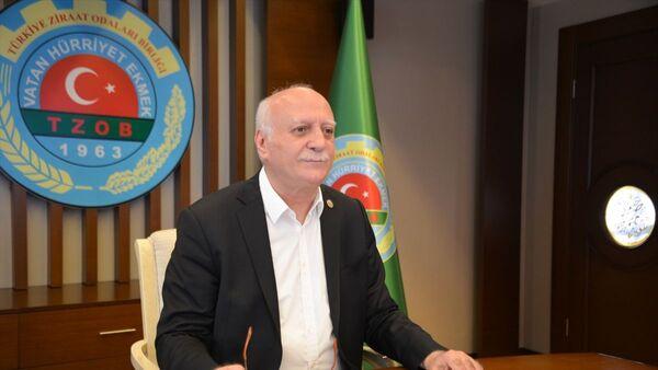 Türkiye Ziraat Odaları Birliği Genel Başkanı Şemsi Bayraktar - Sputnik Türkiye