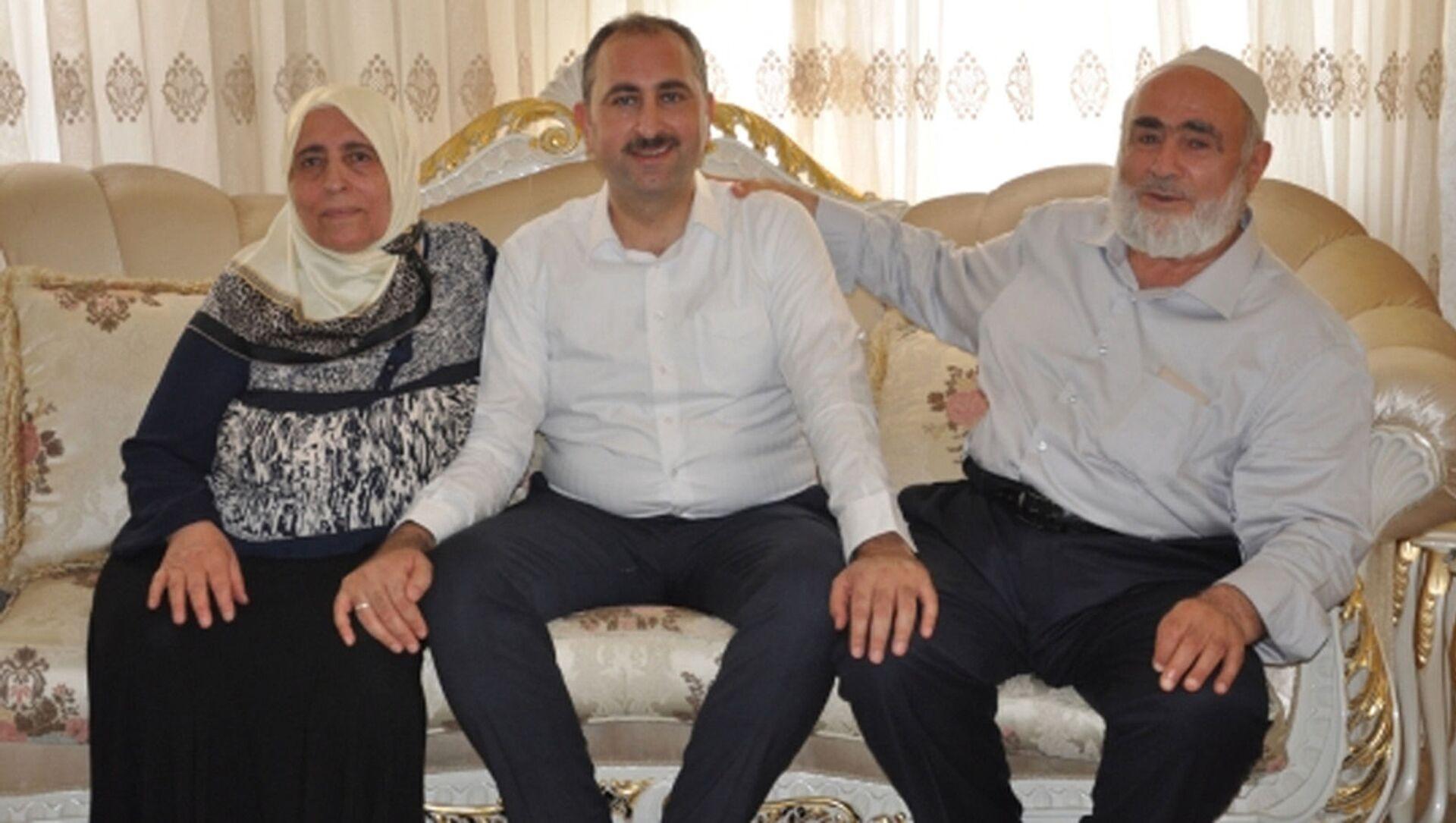 Adalet Bakanı Abdulhamit Gül'ün annesi vefat etti - Sputnik Türkiye, 1920, 09.04.2021