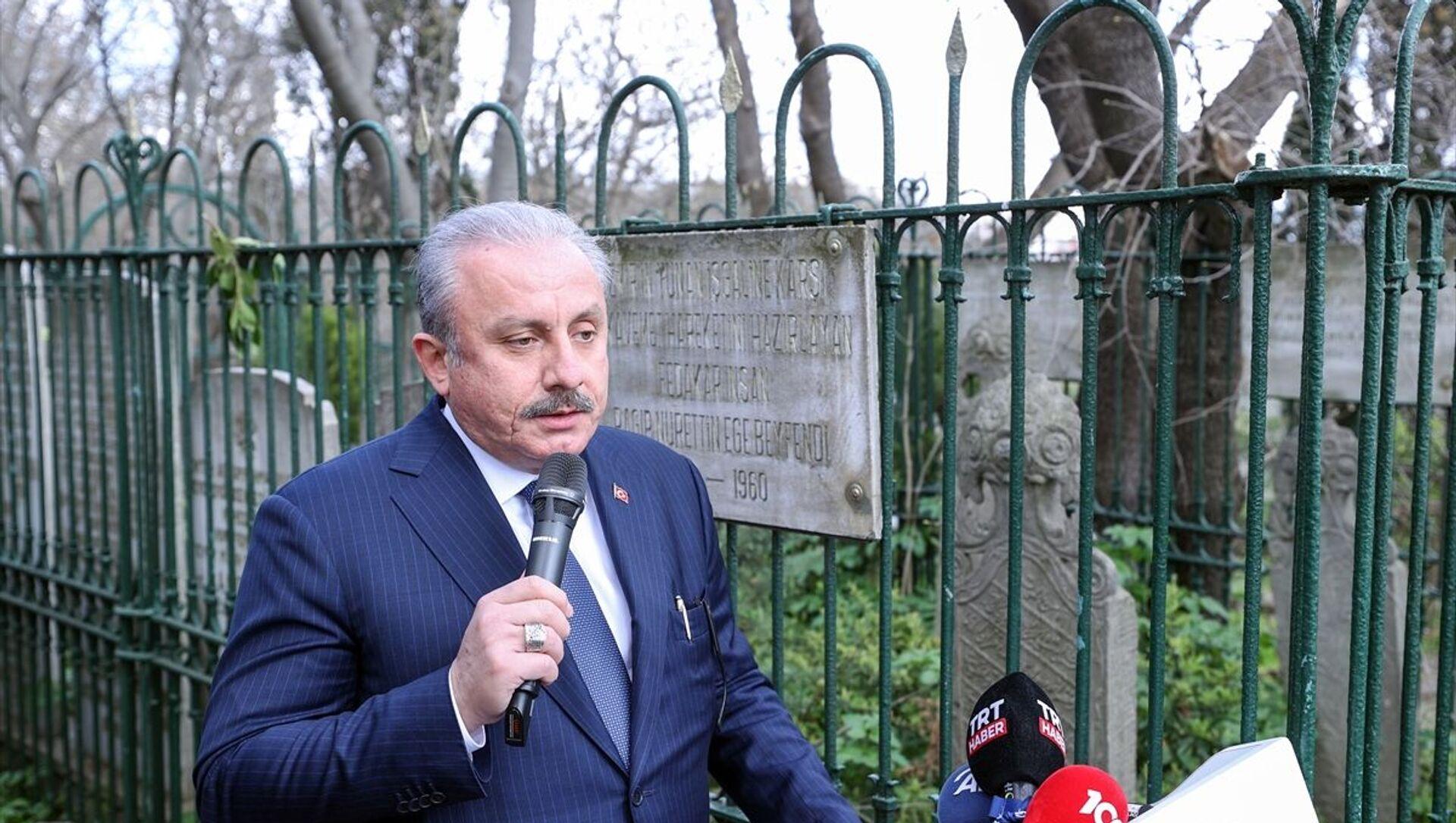 Mustafa Şentop - Sputnik Türkiye, 1920, 03.08.2021