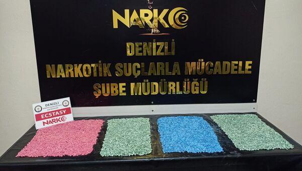 Denizli - uyuşturucu operasyonu - Sputnik Türkiye