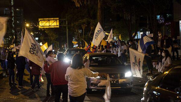 Ekvador'da devlet başkanlığı seçimini sağcı Guillermo Lasso kazandı - Sputnik Türkiye