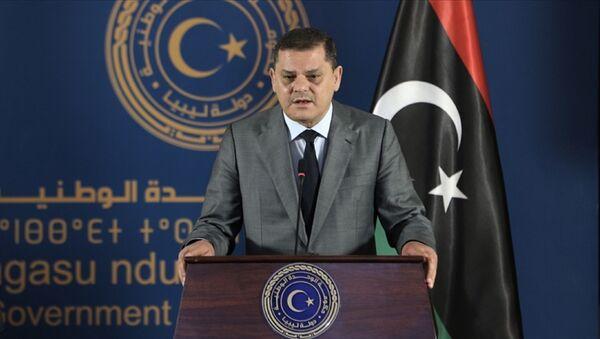Libya Ulusal Birlik Hükümeti Başbakanı Abdulhamid Dibeybe - Sputnik Türkiye