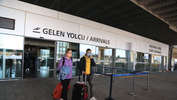 Rus turist - Sputnik Türkiye