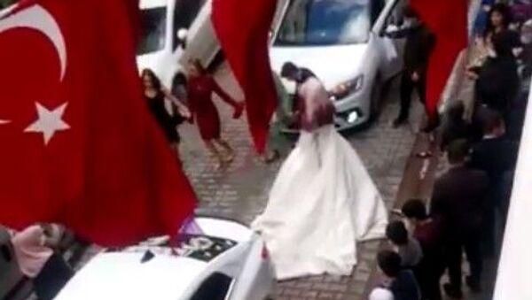 İstanbul, Sultangazi, düğün, halay, korona şarkısı - Sputnik Türkiye