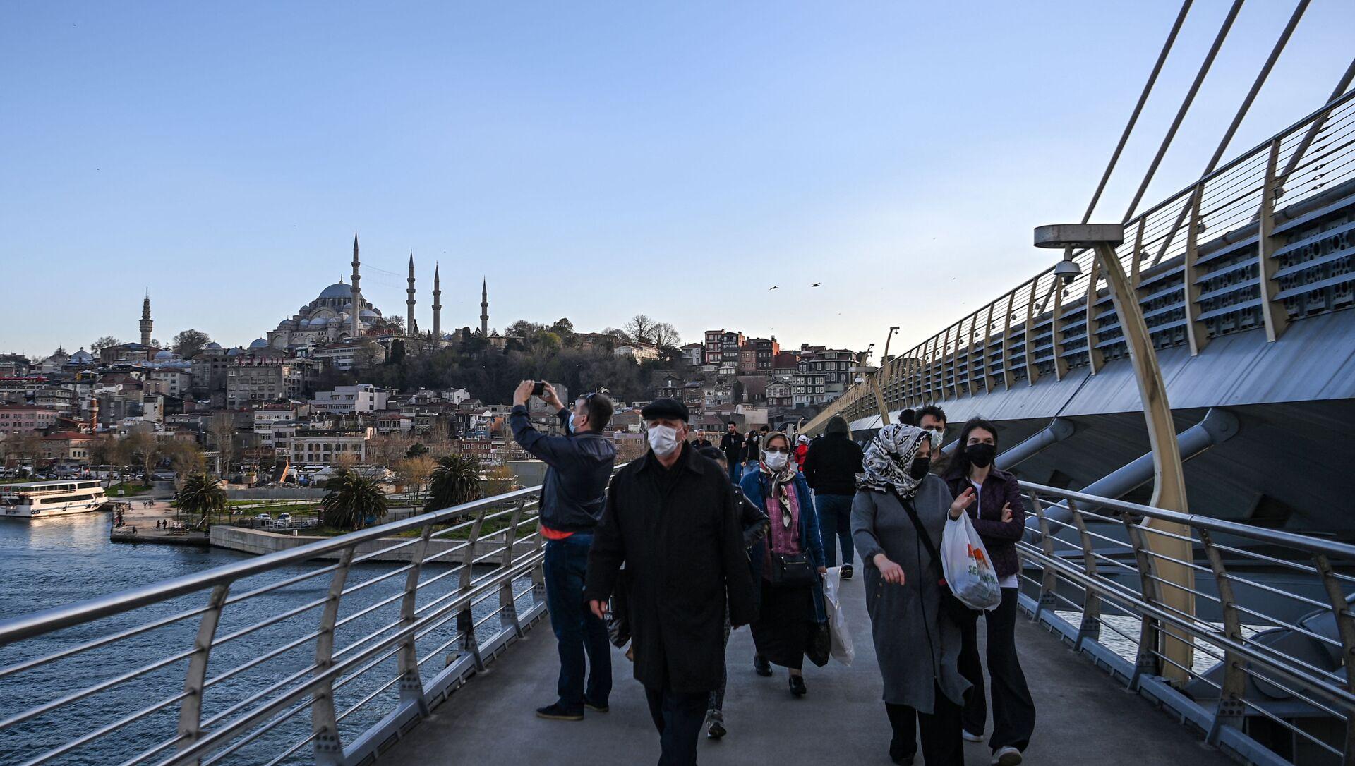 İstanbul- Koronavirüs  - Sputnik Türkiye, 1920, 17.04.2021