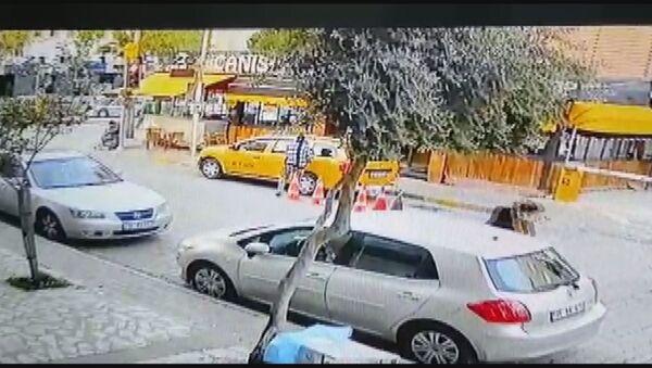 taksi kaçırma olayı - Sputnik Türkiye