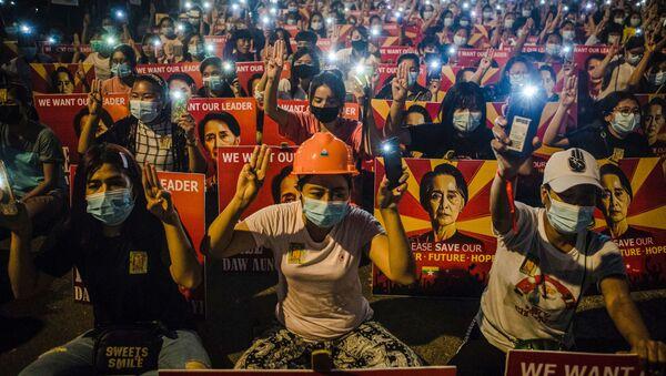 Myanmar - darbe - Sputnik Türkiye