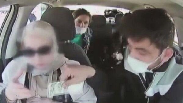 Turisti gasp eden taksici, Fatih - Sputnik Türkiye