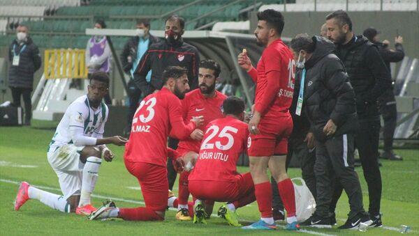TFF 1. Lig'in 30. haftasında GZT Giresunspor ile Ankara Keçiörengücü, Giresun Çotanak Spor Kompleksinde karşılaştı. - Sputnik Türkiye
