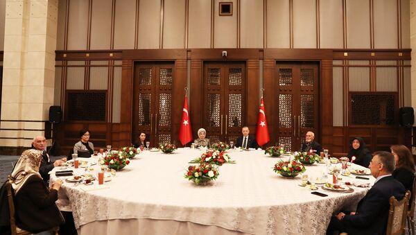Erdoğan - iftar - Sputnik Türkiye