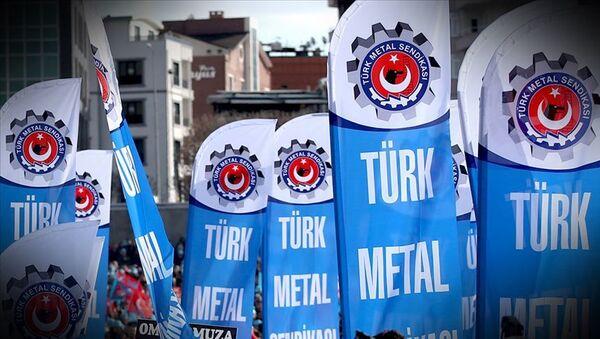 Türk metal iş sendikası - Sputnik Türkiye