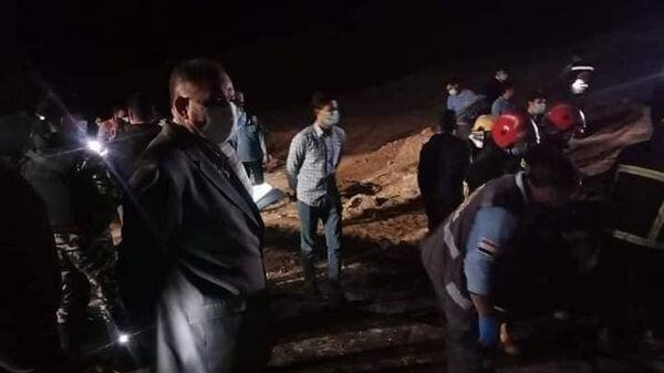 Mısır'da yolcu otobüsü devrildi: 20 ölü - Sputnik Türkiye