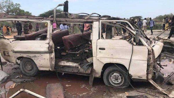 Somali'de bombalı saldırı: 17 ölü, 2 yaralı - Sputnik Türkiye